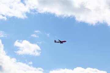 Plane in the sky №37678
