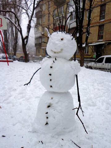 Snowman №37162