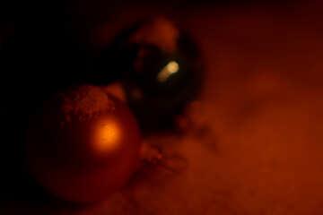 Hintergrund Hintergrund Weihnachten Kugeln bokeh №37930