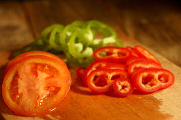 Peppers and tomatoes №37997