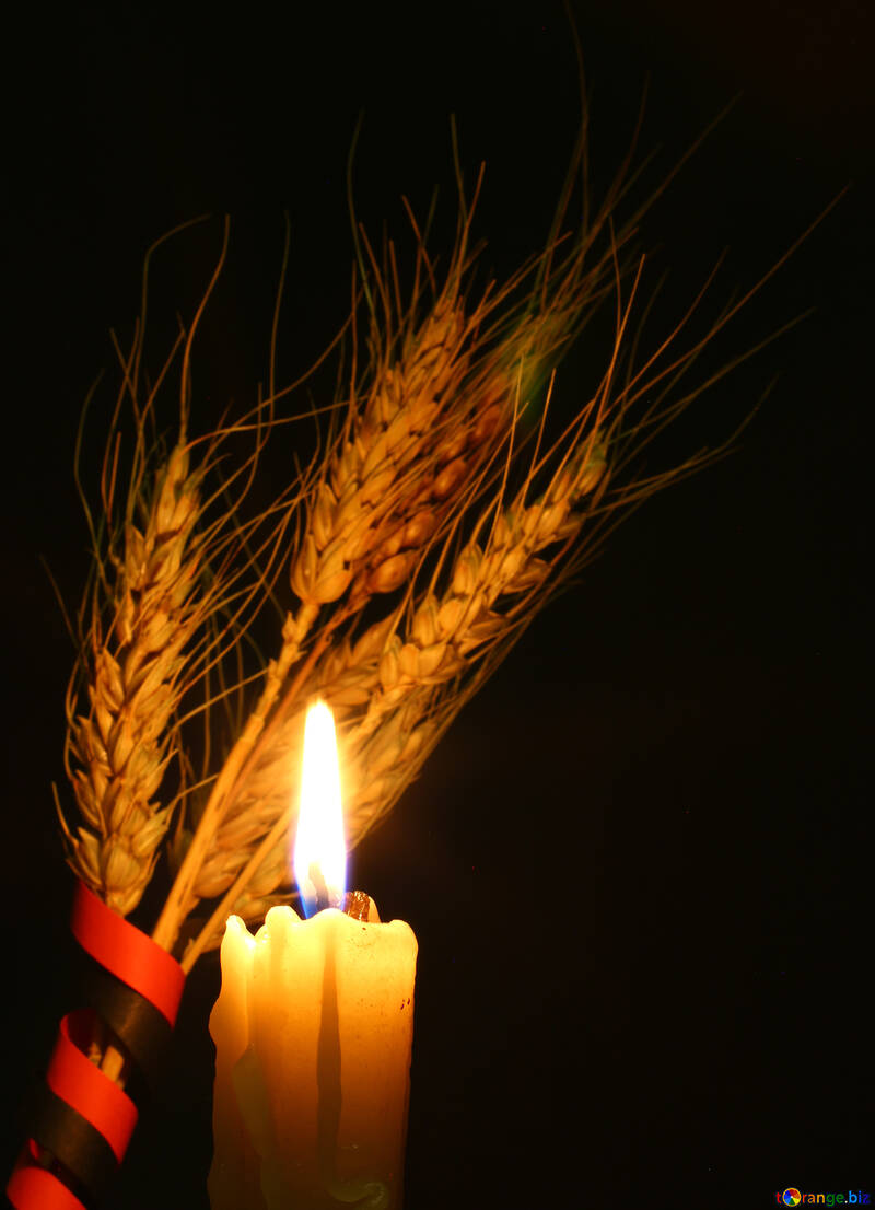 Beerdigung-Kerze №37793
