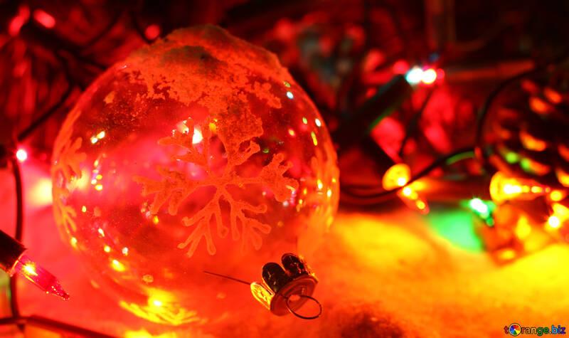 Weihnachten und Neujahr decken für facebook №37910