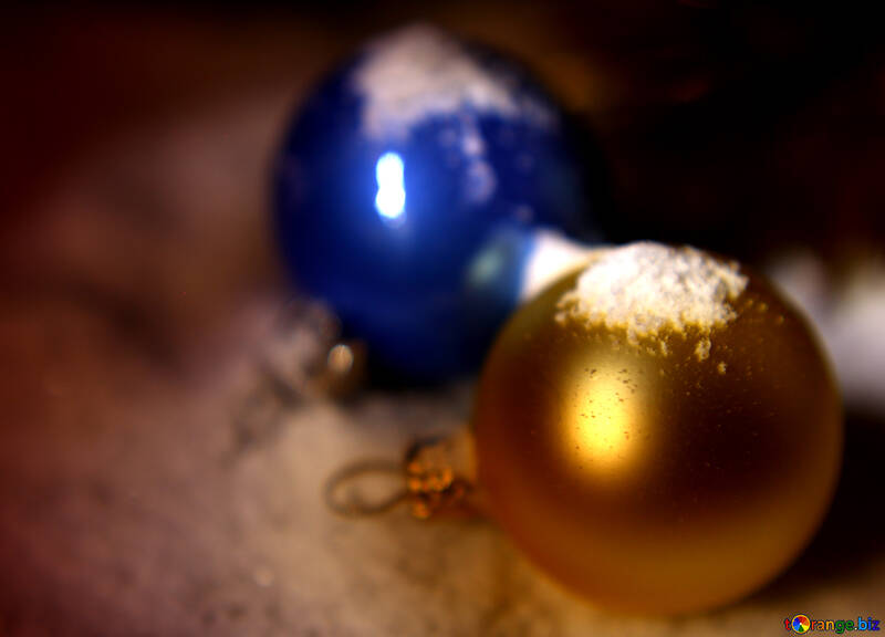 Background with Christmas balls №37927