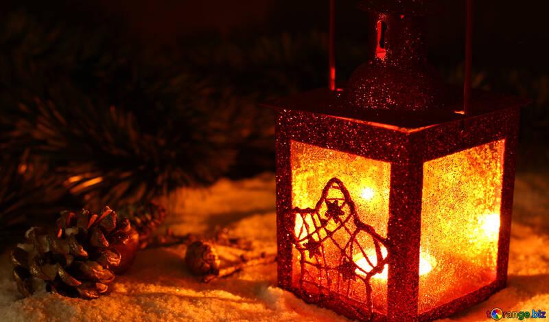 Снежный рождественский вечер №37921