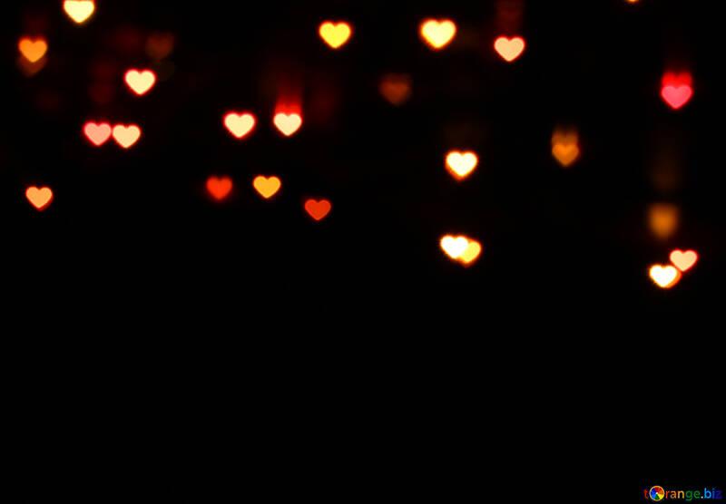 Lights hearts №37851