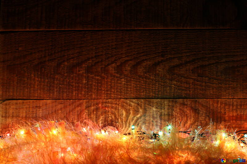 Picture the background Garland new year №37866