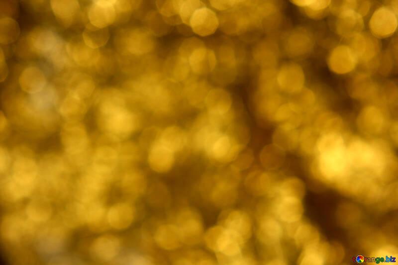 Sfondo di luci dorate №37829