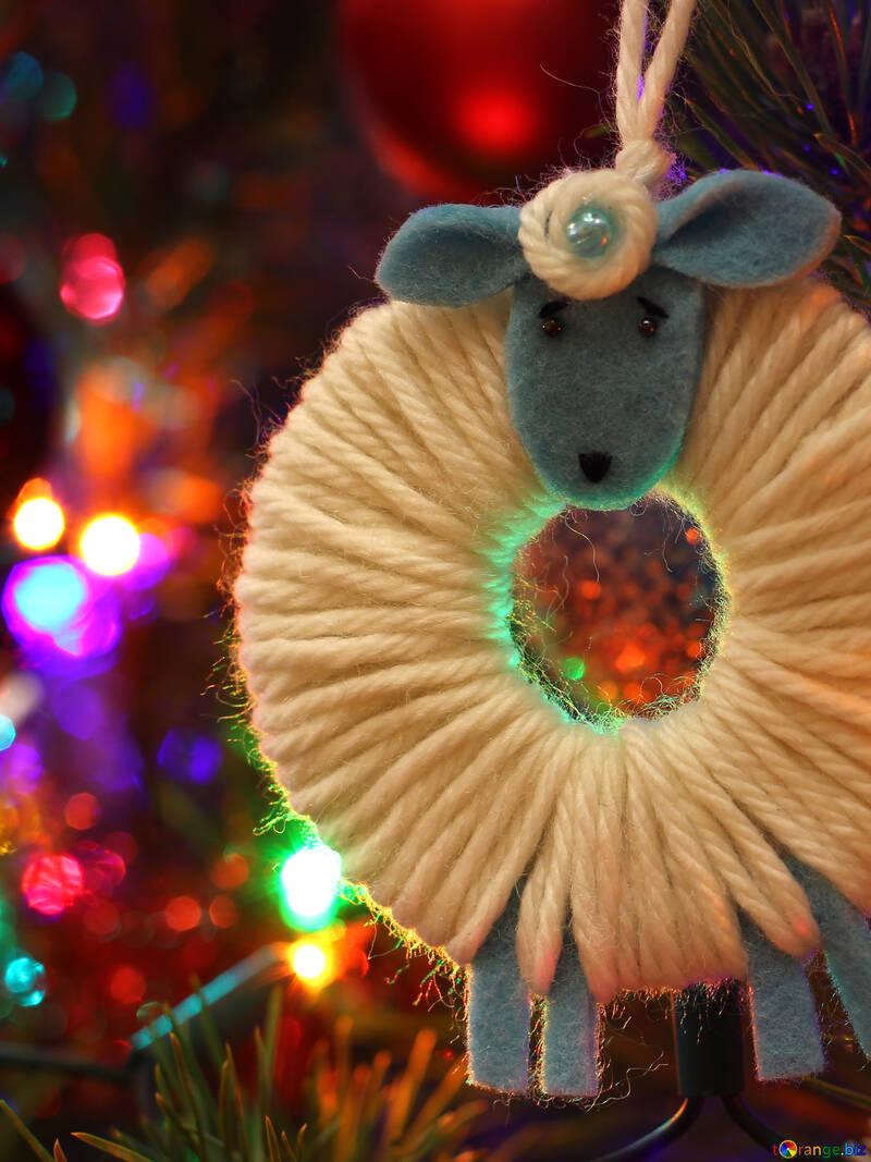Новый год козы овцы №37174