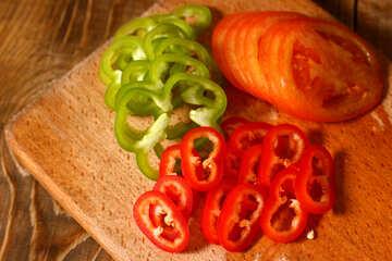 Chopped vegetables №38065