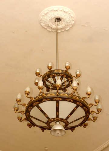 Old chandelier №38968