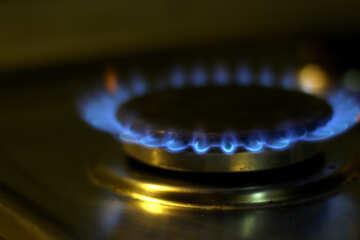 Burning gas №38484