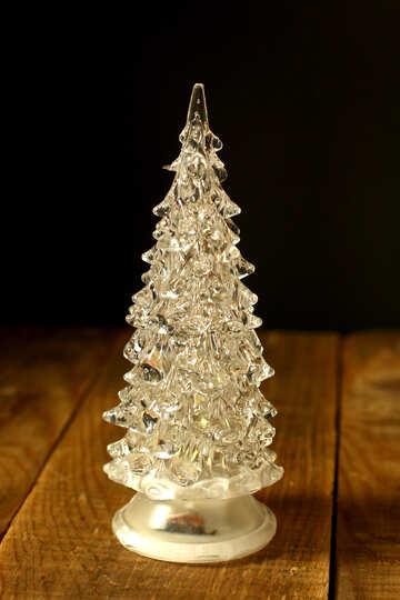Glass Christmas tree №38055