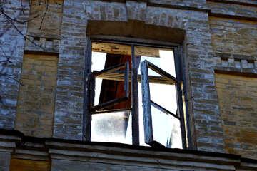 Das zerstörte Fenster №38592