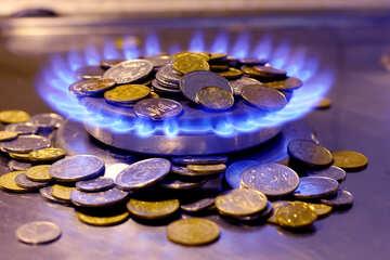 Газ деньги  №38437