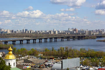 The bridge across the Dnieper River in Kiev №39865