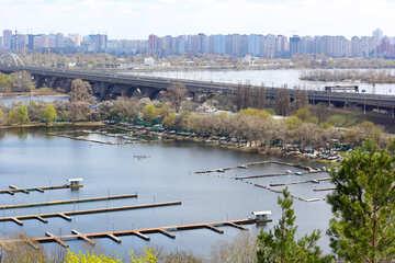 Boat parking in Kiev №39859