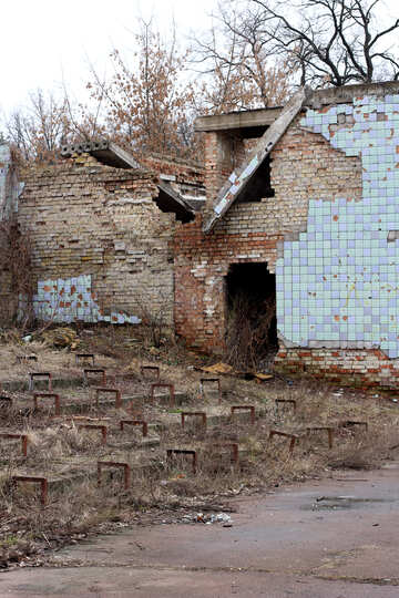 The ruined Stadium №39060