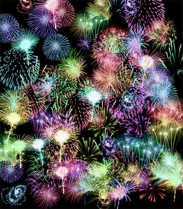 Background fireworks №39942