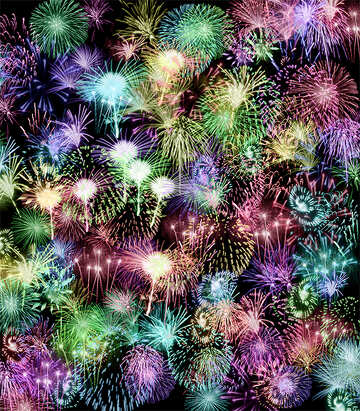 Background fireworks №39943