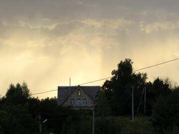 Вечер в селе №39244
