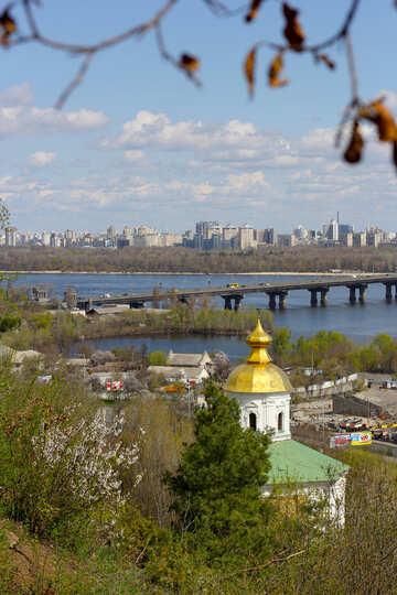 Kiev spring landscape №39868