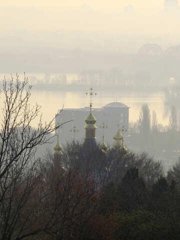 Kiev at dawn №39167