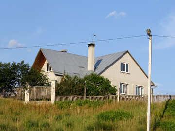 Modern village house №39527