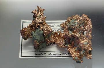 Copper nugget №39452