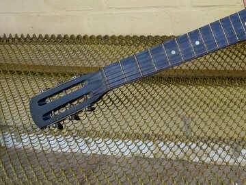 Guitar fretboard №39578