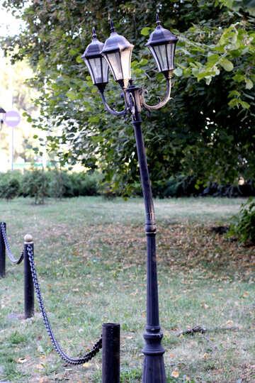 Warped lamppost №39641