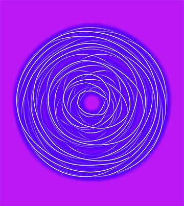Bright circles №39974