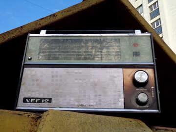 Old radio receiver №39144