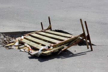 Il fallimento di asfalto №39849