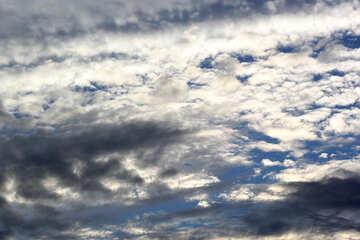 Bel cielo con le nubi №39302