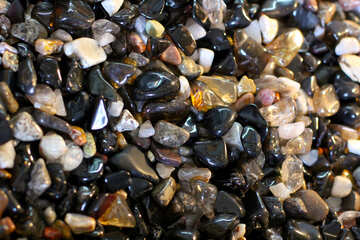 Multicolored stones texture №39321