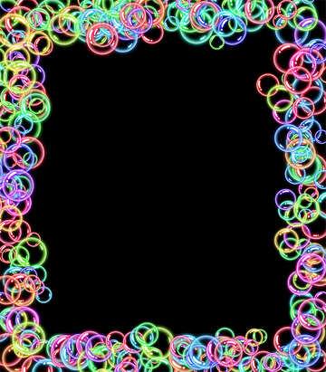 Frame bubbles №39959