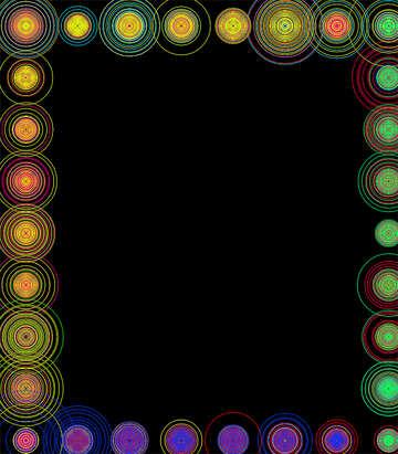 Frame circles №39956