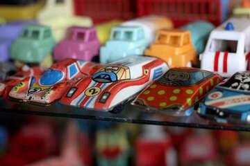 Automobili del giocattolo dell`URSS №39337