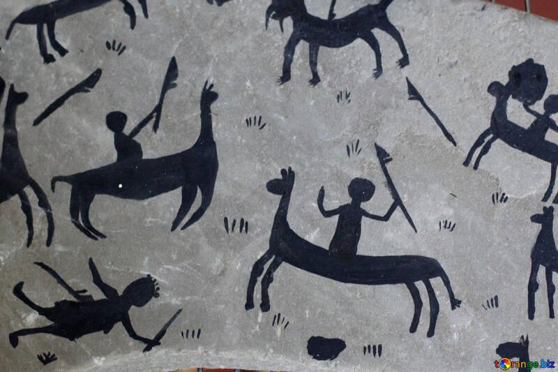 A textura da figura dos povos antigos №39327