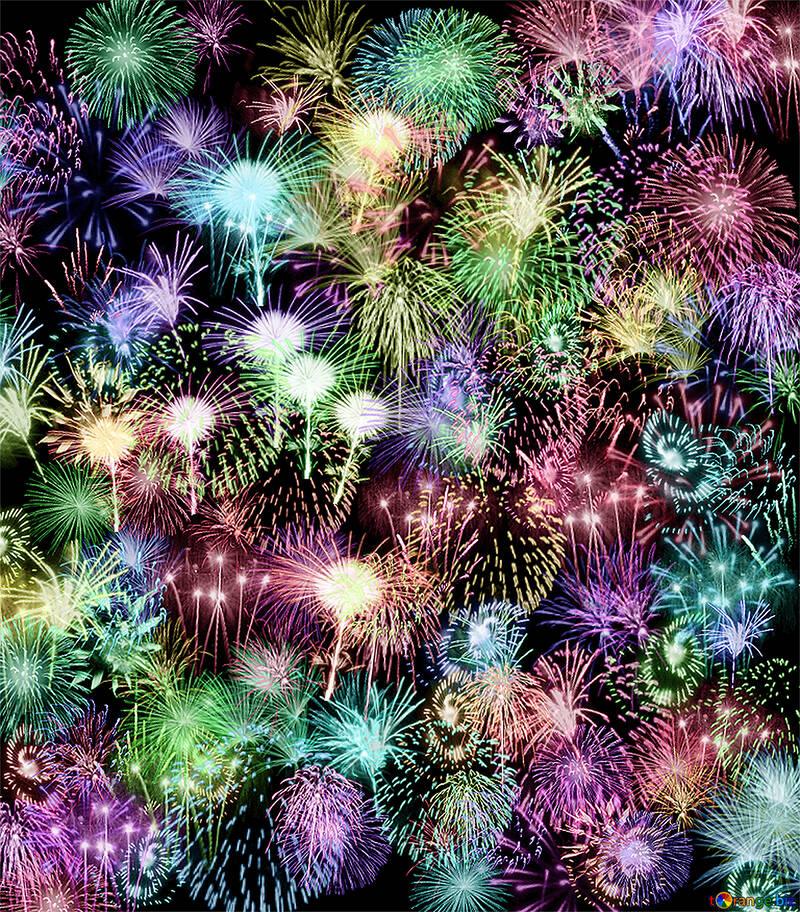 Background fireworks №39943