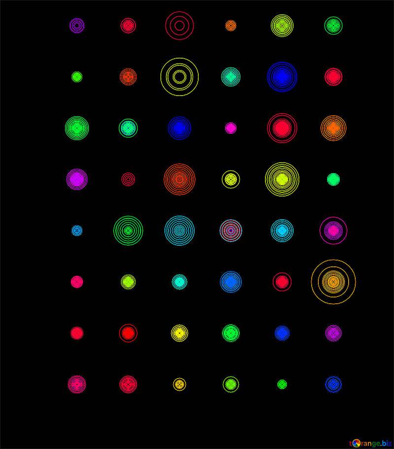 Conjunto de fractales de colores №39927