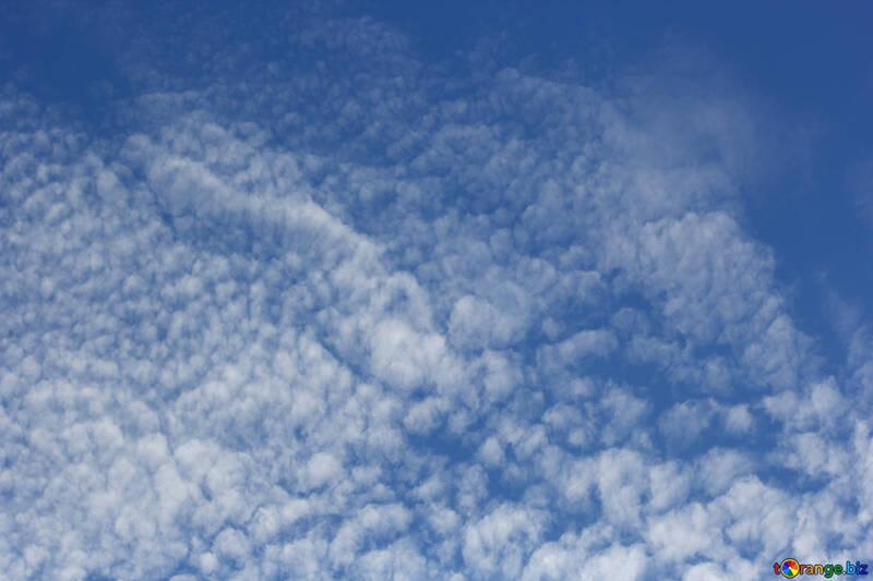 Beautiful clouds in the blue sky №39298