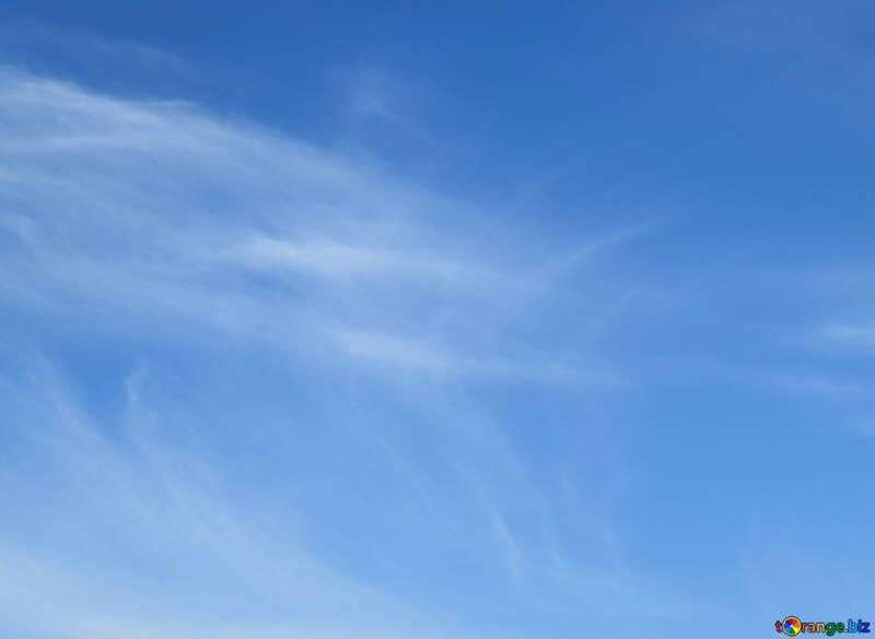 Sky background with white haze №39257