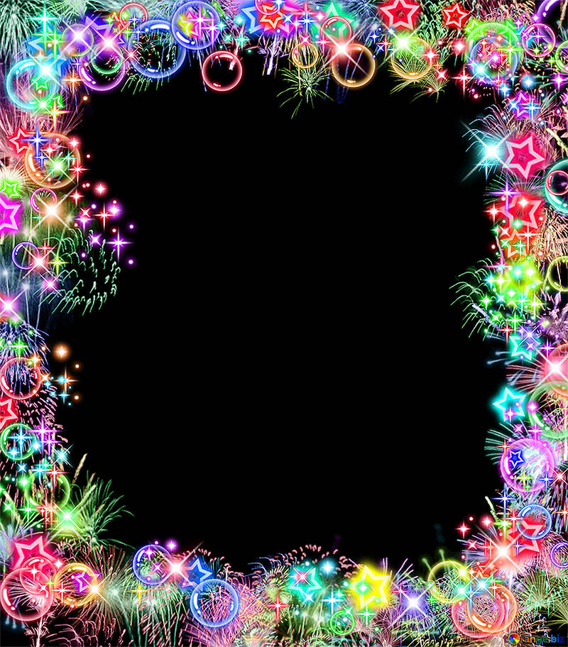 Рамка разноцветная №39964