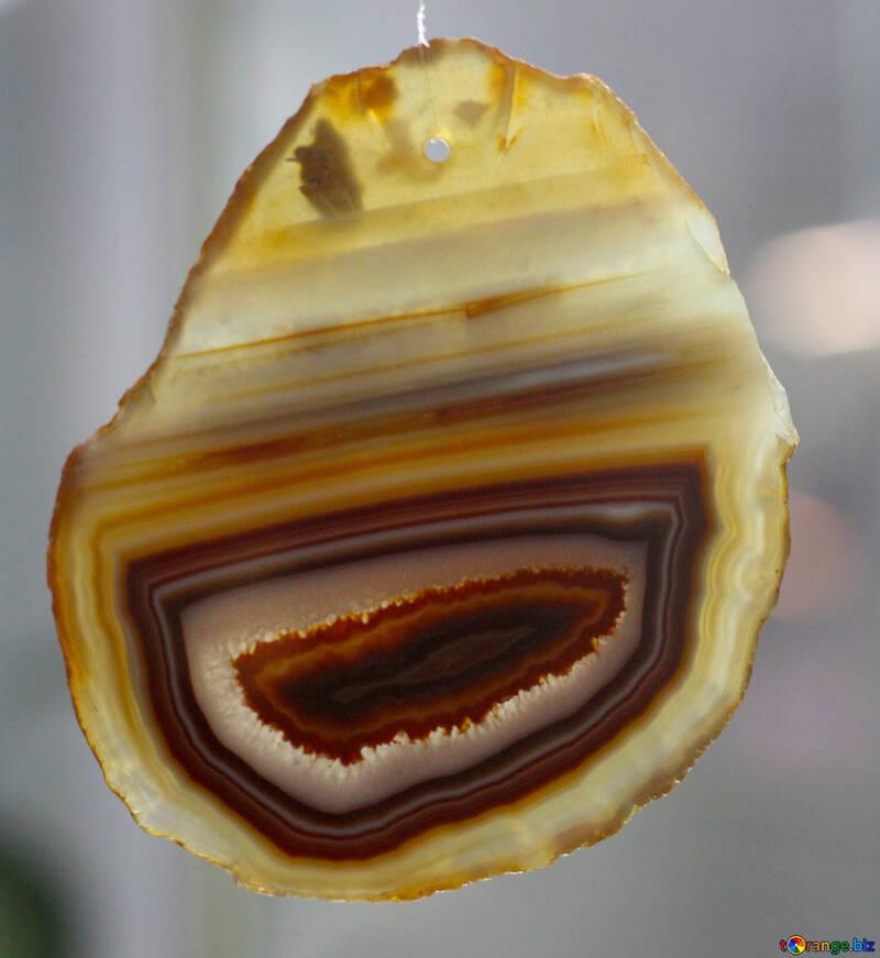 Texture agate slice №39492