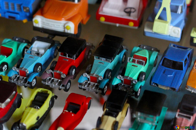 Colección de maquetas de coches antiguos №39333