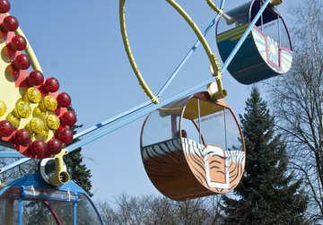 Ferris Wheel at the zoo №4545