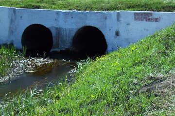 The Bridge small rapid stream №4745