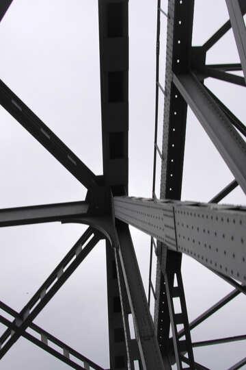 Metal frame №4873