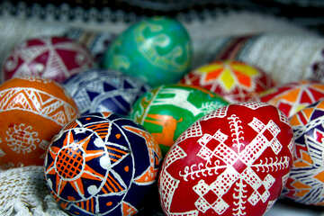 Colored Easter Eggs №4360
